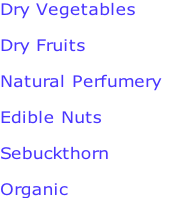 Dry Vegetables